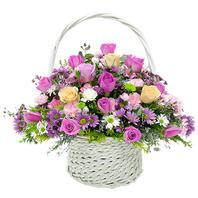 핑크 flower