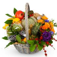 과일 혼합 꽃바구니(출산,집들이)