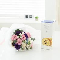 꽃다발k3 (롤케익,빠리/뚜레)