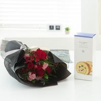 꽃다발k4 (롤케익,빠리/뚜레)