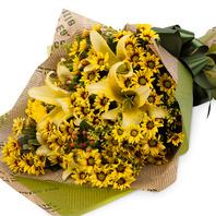 노랑꽃다발