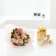 꽃다발f6(초코렛욥션)