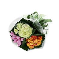 삼색의 꽃다발
