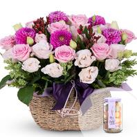 핑크톤flower/사탕