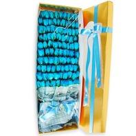 파랑장미100송이박스
