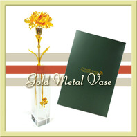금 카네이션 크리스탈세트(선물/택배발송)