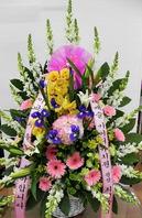 전시회꽃바구니(특)