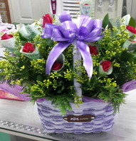 돈래핑꽃바구니(레드버젼)