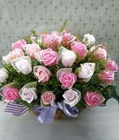 돈래핑 꽃바구니k5(핑크버젼)