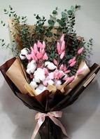 목화꽃다발2(배송상품)