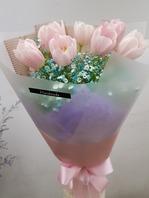 튜립다발(핑크)