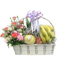 꽃 & 과일바구니